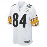 Image of NFL Pittsburgh Steelers (Antonio Brown) Men's American Football Home Game Jersey Black