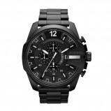 Afbeelding van Diesel DZ4283 Mega Chief herenhorloge horloge Zwart