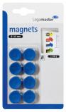 Afbeelding van Magneet LegaMaster 20mm 250gr Blauw 8stuks