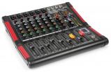 Afbeelding van Power Dynamics PDM M604 6 kanaals muziek mixer
