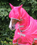 Bilde av Bucas Buzz Off Fly Mask Paradise Pink