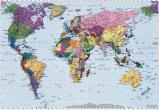 Afbeelding van Komar Fotobehang World Map 270x188 cm 4 050