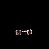Abbildung von TI SENTO Milano Ohrring Rhodiniertem Sterlingsilber Braun Damen 7768TB