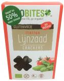 Afbeelding van Biobites Lijnzaad Crackers Italian 90GR
