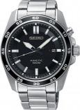 Afbeelding van Seiko SKA785P1 horloge Kinetic herenhorloge Zilverkleur