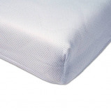 Afbeelding van ABZ polyester Airgosafe hoeslaken 70x150 Wit