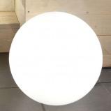 Afbeelding van 8 Seasons solar led buiten sfeerlamp Shining Globe 50, polyethyleen, 2 W, energie efficiëntie: A