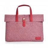 """Afbeelding van Dxyizu fashion laptoptas 13"""" roze"""