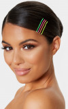 Imagine din 24 Pack Multicoloured Neon Hair Clips