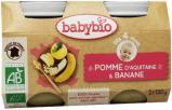 Afbeelding van Babybio Dessert Appel Banaan (2x130g)