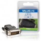 Afbeelding van DVI HDMI™ adapter mannelijk input zwart Valueline