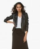 Bilde av Drykorn Biker Jacket Ceylon Black Leather