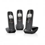 Afbeelding van Gigaset AS405 TRIO zwart Dect telefoon