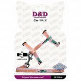 Afbeelding van D&d Cat walk/original Small Harness Pink 18 28cm