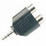 Afbeelding van Eb Adapter 3,5mm/2xRCA [female]