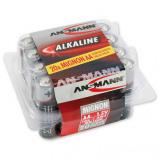 Afbeelding van Ansmann alkaline batterij red mignon aa 20 stuks blister