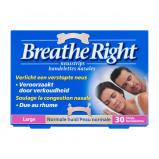 Afbeelding van Breathe Right Neuspleisters Normale Huid 30 Stuks