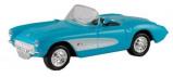 Billede af 1953 Chevy Corvette, blå/hvid H0 Model Power