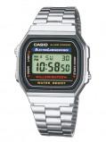 Afbeelding van Casio Collection A168WA 1YES Classic horloges horloge Zilverkleur