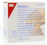 Afbeelding van 3m Medipore met Schutblad 5 Cm X 10 M, 1 stuks