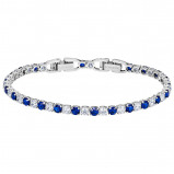 Afbeelding van Swarovski 5506253 Tennis Dlx Bracelet Mix Zilverkleur Armband Medium