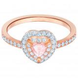 Afbeelding van Swarovski 5439315 Ring One rosekleurig roze Maat 55
