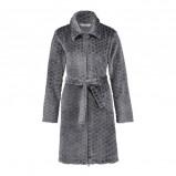 Afbeelding van Elegant fleece badjas grijs
