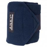 Afbeelding van Anky Bandages Basic Fleece Set van 4 Navy 3,5m