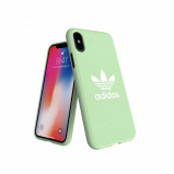 Afbeelding van adidas OR Moulded Case CANVAS FW18 for iPhone X/Xs clear mint