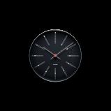 Image of Arne Jacobsen Bankers Wall Clock Ø 21 cm Black (43636)