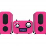 Afbeelding van Bigben Microset Radio/CD Speler Roze stereo set