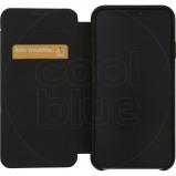 Afbeelding van Decoded Leather Slim Wallet Apple iPhone Xs Max Book Case Zwart