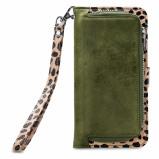 Afbeelding van Apple iPhone 8 Plus / 7 6s Hoesje Mobilize Groen Print Meerkleurig Bookcase