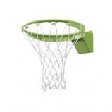 Abbildung von EXIT Basketball Dunkring mit Netz grün