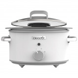 Afbeelding van Crock Pot CR038 Duraceramic Sauté Wit 5 L slowcooker