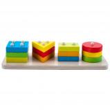 Afbeelding van Engelhart leerspel vormen geometrisch 30 cm