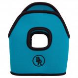 Imagem de BR Stirrup Covers Neoprene Turquoise 12cm