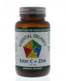Afbeelding van Essential Organics Ester C + Zink 500mg Tabletten 90st