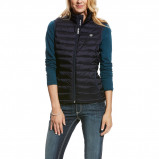 Image of Ariat Bodywarmer Ideal Down Woman Overall Navy L