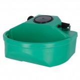 Abbildung von Kerbl Schwimmertränkebecken aus Kunststoff, Grün 3L