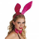 Afbeelding van Boland accessoiresset Sparkling Bunny dames roze one size