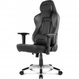 Afbeelding van AKRACING, Gaming Chair Office PU Leather Obsidian / Carbon