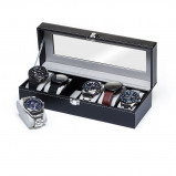 Bilde av Watchbox Black/Gray, suitable for 6 watches.