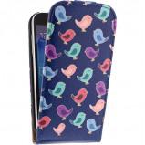 Afbeelding van Mobilize Ultra Slim Flip Case Samsung Galaxy S5 Mini Birdy