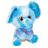 Afbeelding van Eddy Toys knuffelolifant 25 cm blauw/paars