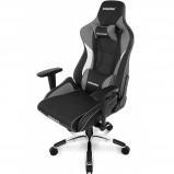 Afbeelding van AKRACING, gaming Chair Master Pro PU Leather Grijs stoel