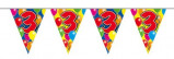 Afbeelding van Amigo Vlaggenlijn ballonnen: 3 jaar 10 meter