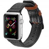 Abbildung von Apple Watch 40 mm: Dux Ducis Canvas Band Schwarz