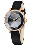 Afbeelding van Swarovski 5416009 Crystal Lake horloge dameshorloge Rosekleurig,Zwart