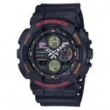 Afbeelding van Casio G Shock GA 140 1A4ER Black horloge herenhorloge Zwart